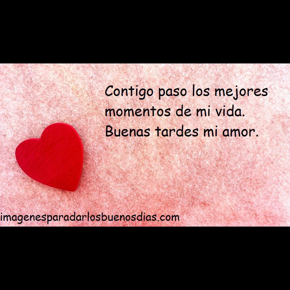 Bonito Lunes Mi Amor feliz tarde imágenes, saludos y frases para amigos y novios