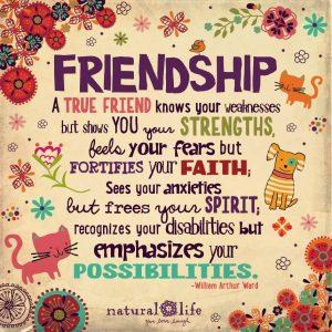Frase de amistad en inglés