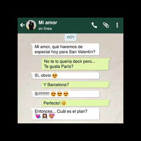 Chats De Whatsapp De Novios Enamorados Graciosos Y Novios
