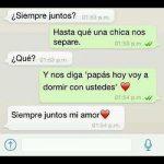 Chat de whatsapp de amor