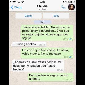 Chats De Amor De Whatsapp Para Enamorar Para Mi Novio Y Para Jovenes