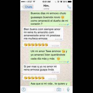 Chats De Whatsapp De Novios Enamorados Graciosos Y Novios Celosos