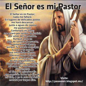 Salmo de Jesús es mi pastor