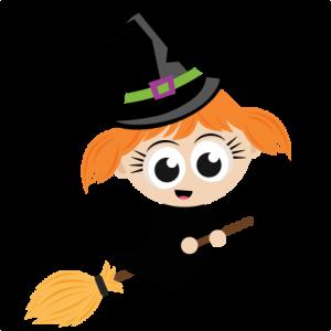 Bruja de Halloween para niños