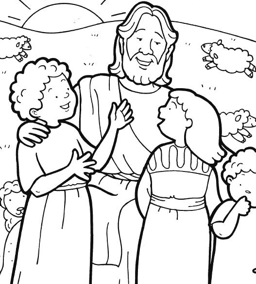 Jesús Para Dibujar Pintar Y Colorear Imágenes Bonitas De Cristo