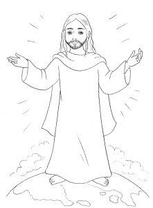 Jesus Para Dibujar Pintar Y Colorear Imagenes Bonitas De Cristo