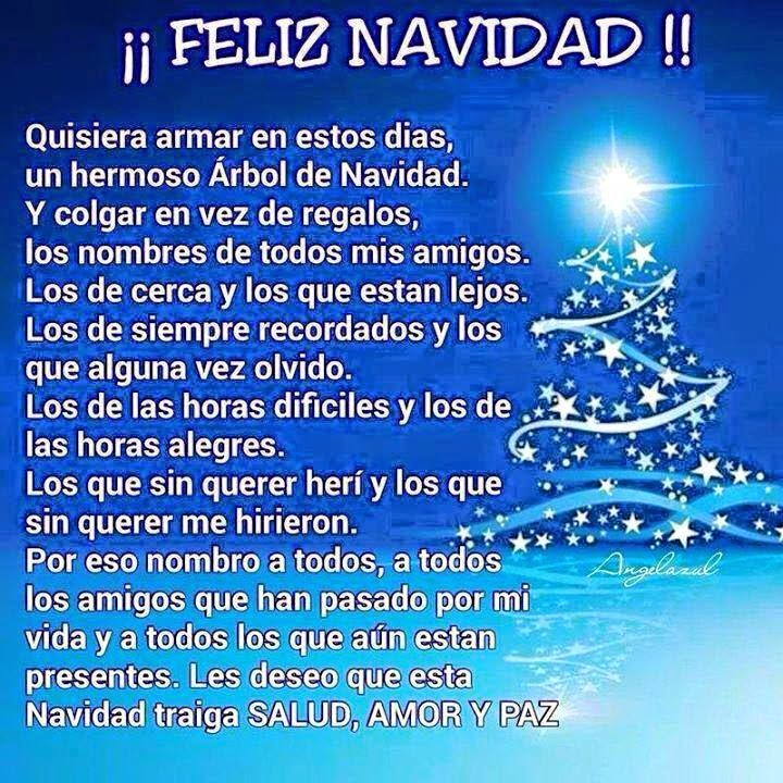 Poemas De Navidad Cortos Para Amigos Y Para La Familia