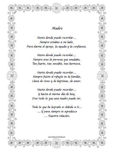 Poesías Para Mi Mamá Cortas Y Largas De Amor Con Rima