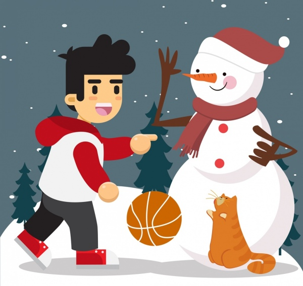 Dibujos A Color De Navidad Para Imprimir Dibujos Infantiles Navideños