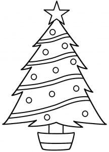 Arboles De Navidad Dibujos Coloreados.Dibujos De Arboles De Navidad Para Colorear Y Dibujar Faciles