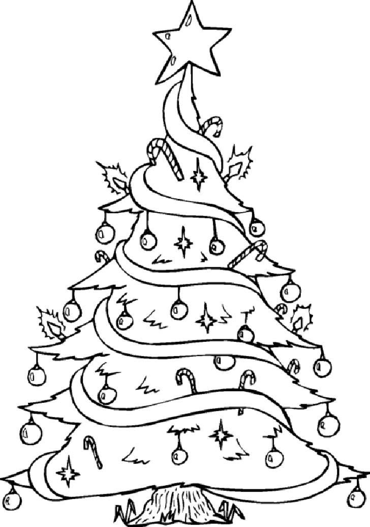 Bonitos Dibujos De Navidad A Color Faciles.Dibujos De Arboles De Navidad Para Colorear Y Dibujar Faciles