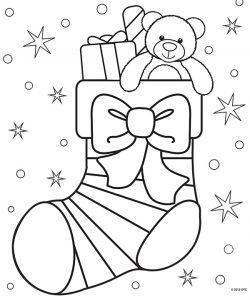 Dibujos Para Colorear De Navidad Bonitos Y Fáciles Para Niños