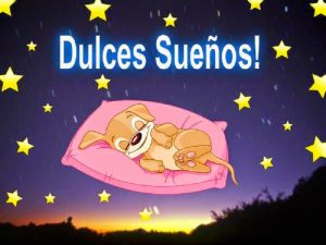 Dulces sueños