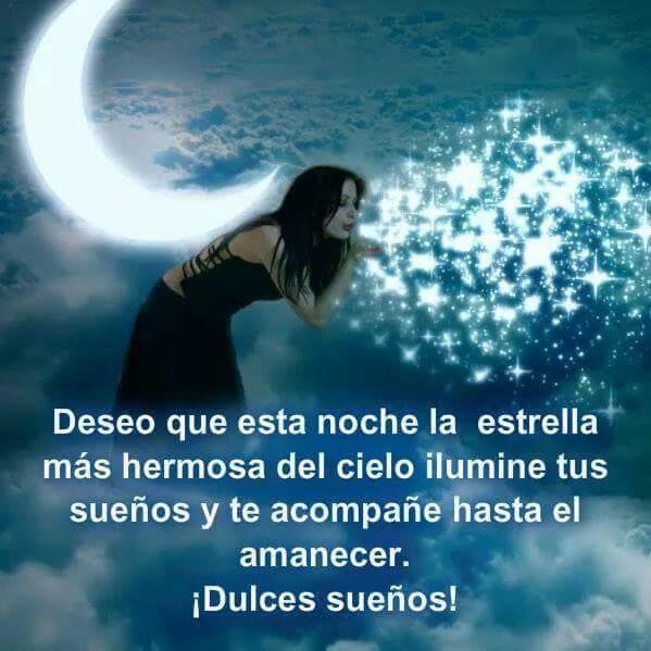 Felices Sueños Mi Amor En Frases Buenas Noches Amigo Hasta