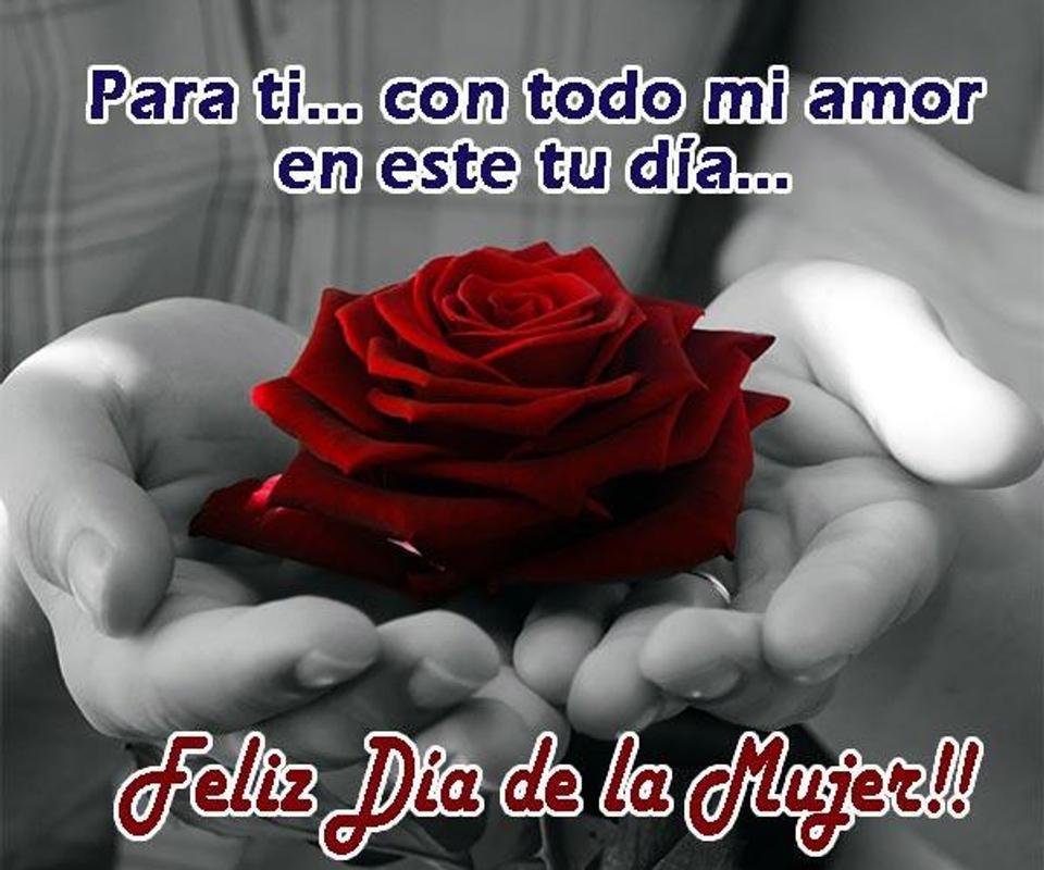 Feliz Dia De La Mujer Mi Amor Con Frases Hermosas Gracias por ser como eres. feliz dia de la mujer mi amor con