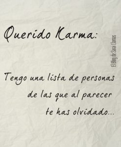 Frases Del Karma Cortas En El Amor Para Gente Mala