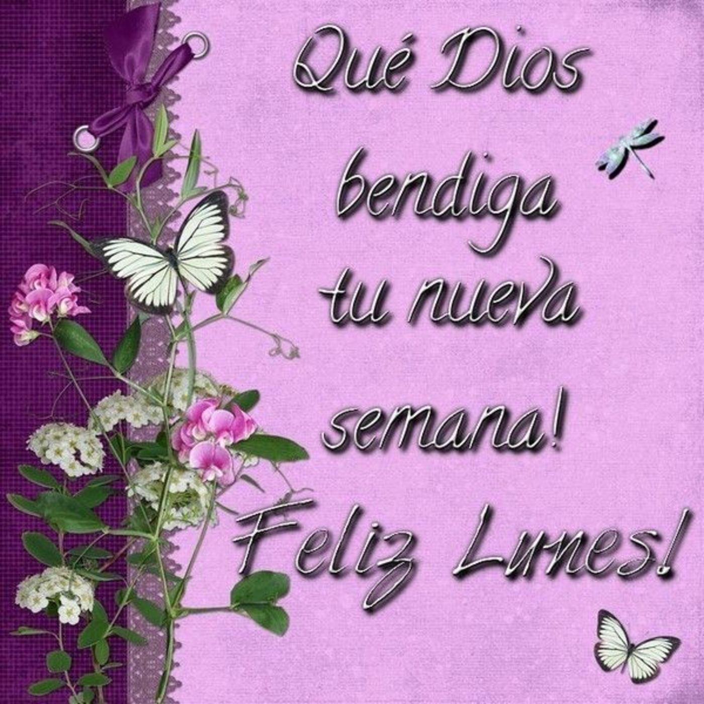 Bonito Lunes Mi Amor feliz lunes dios te bendiga en imágenes con frases para
