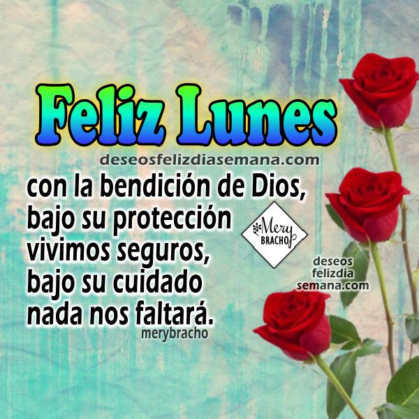 Feliz Lunes Dios Te Bendiga En Imágenes Con Frases Para