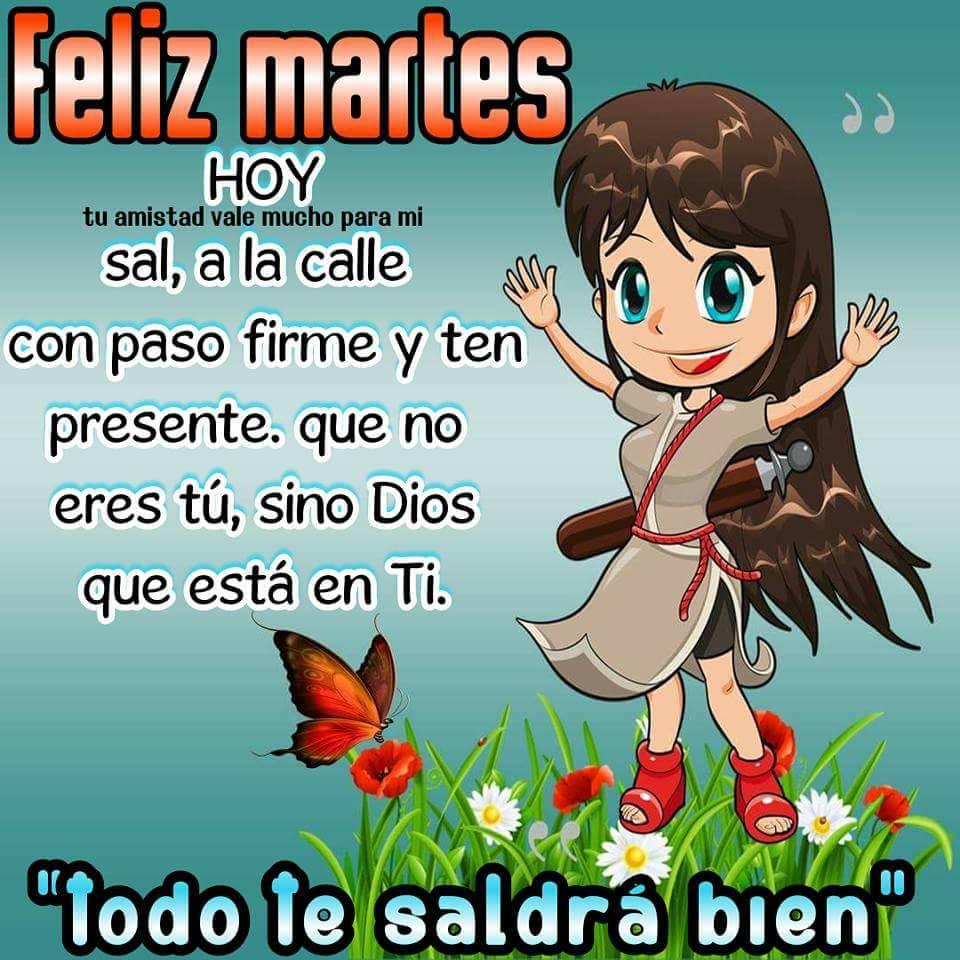 Bonito Lunes Mi Amor feliz martes frases de dios te bendiga familia, amiga, mi