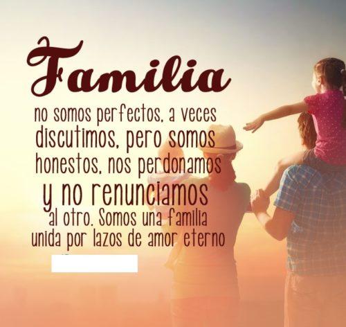Frases Para Mi Familia De Amor Cortas Y Palabras De