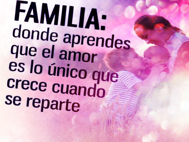 Frases De Familia: Frases Para Mi Familia De Amor Cortas Y Palabras De
