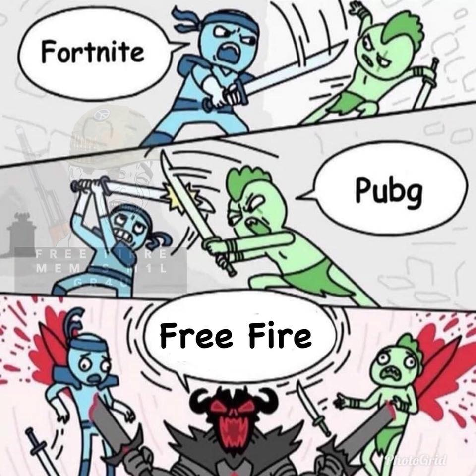 Memes de Free Fire