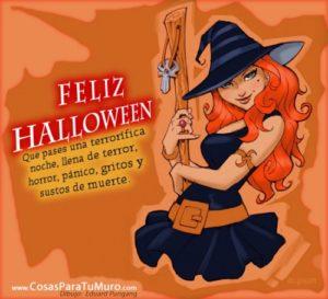 Saludos de Halloween
